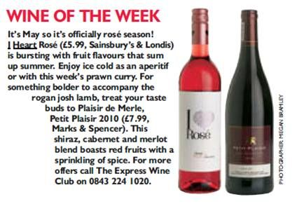 Saturday Express Wine of the Week!